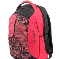 Rhythm casual backpack red